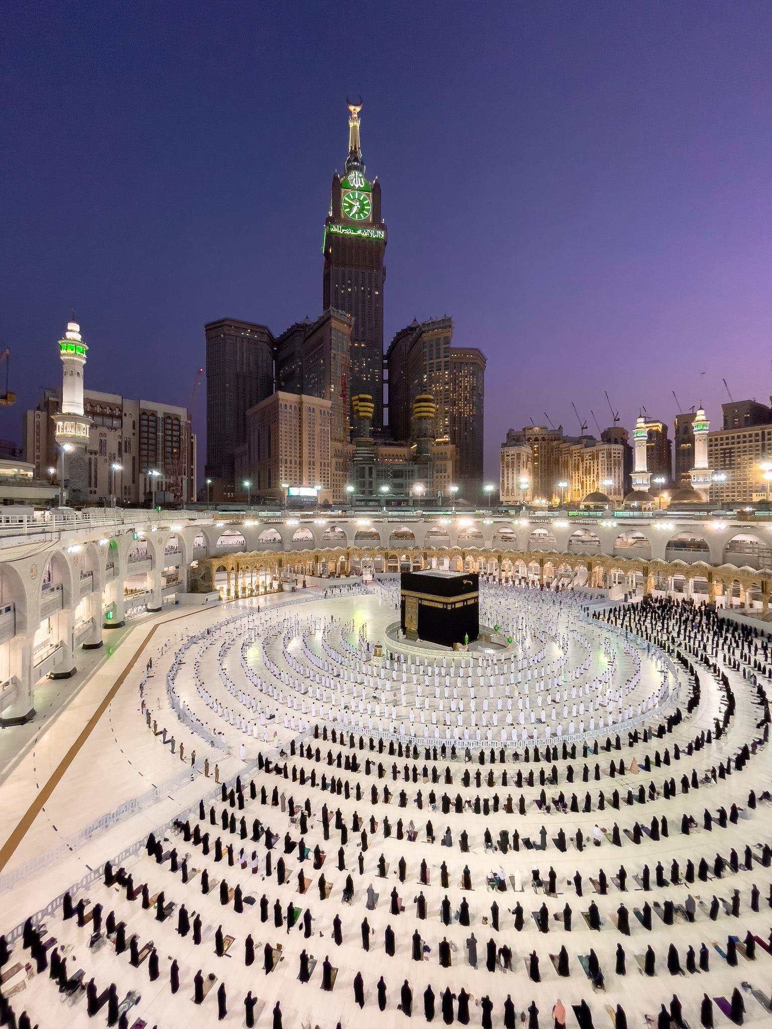 من المسجد الحرام