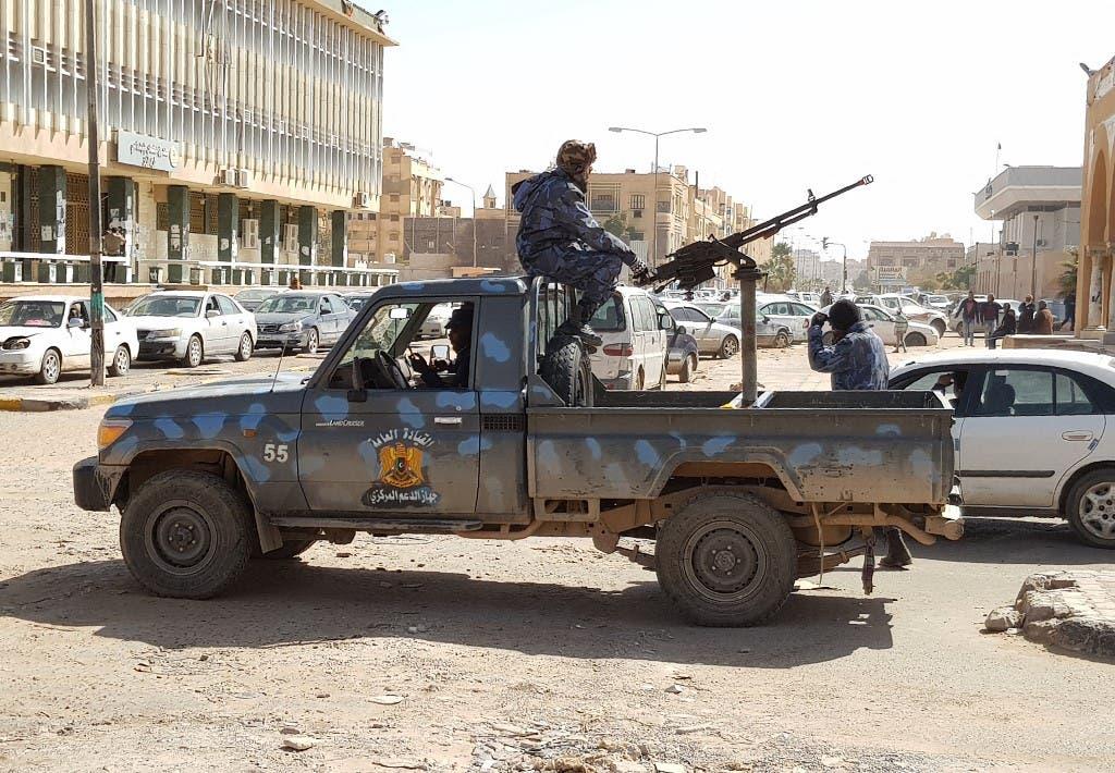 عناصر من الجيش الليبي في سبها جنوب ليبيا - فرانس برس أرشيفية