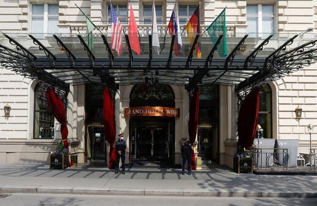 هتل محل برگزاری نشست وین