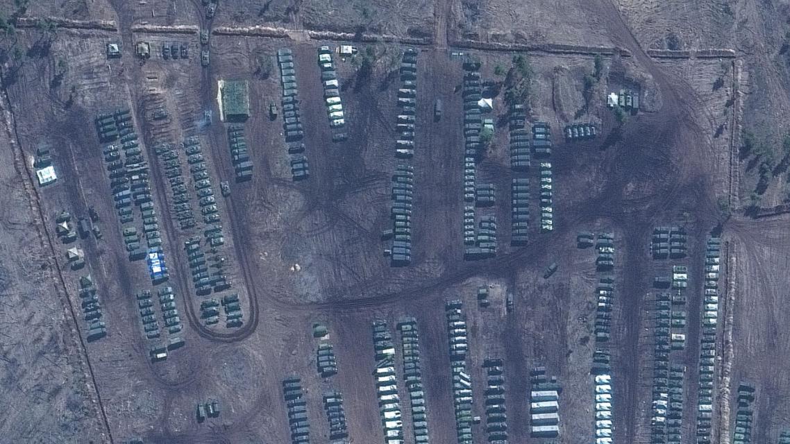صور لحشود عسكرية روسية في القرم