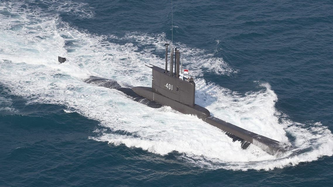 Indonesia lost contact with the 1,395-tonne KRI Nanggala-402 submarine, consisting of 53 crew members. (Twitter)