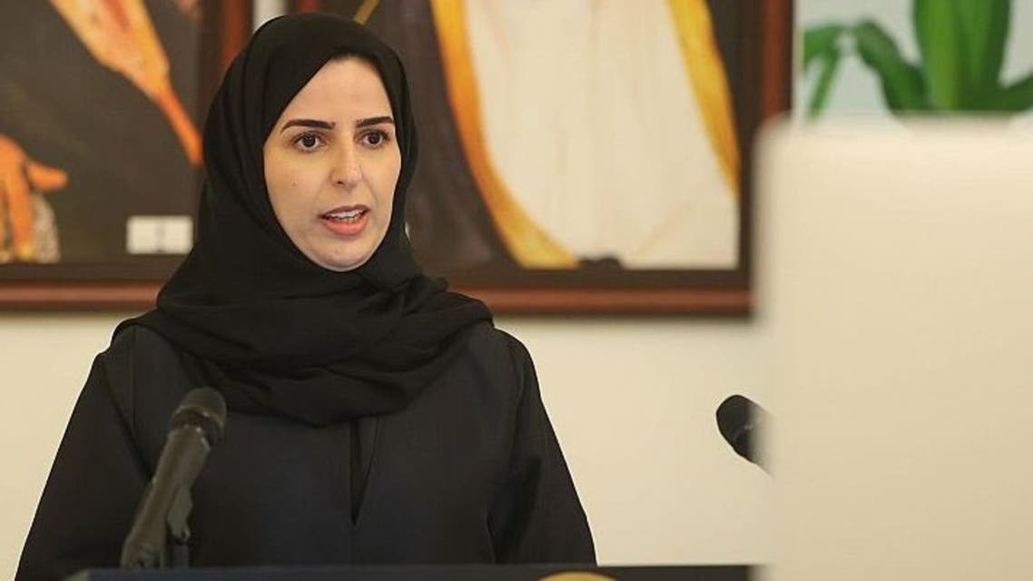 Inas al-Shahwan is sworn in as Saudi Arabia's Ambassador to Sweden and Iceland. (SPA)
