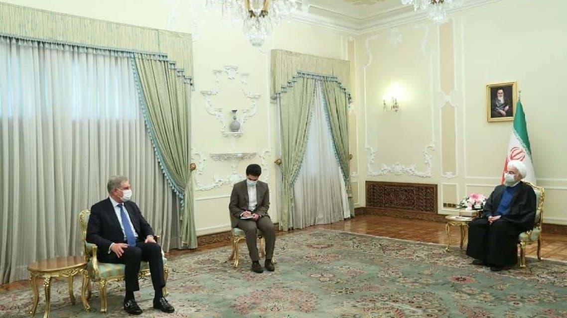 FM Qureshi Meets Iranian President