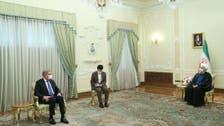 پاکستانی وزیرخارجہ کا ایرانی صدرحسن روحانی سے دوطرفہ تعلقات کے فروغ پر تبادلہ خیال