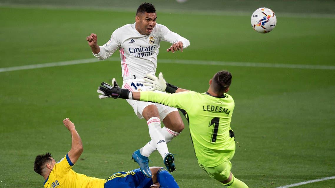 كاسيميرو ريال مدريد قادش