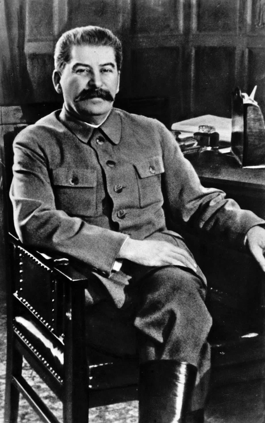 صورة لجوزيف ستالين
