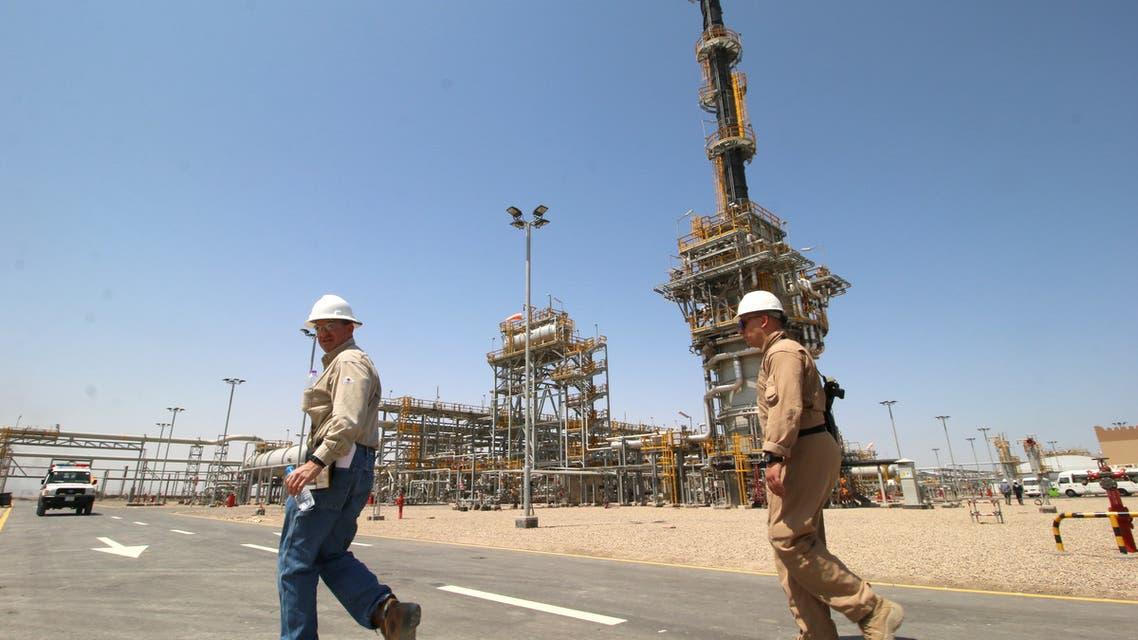 حقل القرنة النفطي في العراق