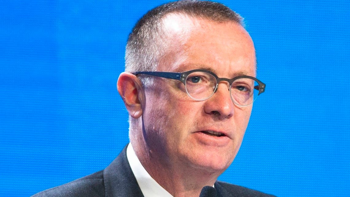 Jeffrey Feltman speaks at an international security conference in Moscow, Russia, April 27, 2016. (AP)