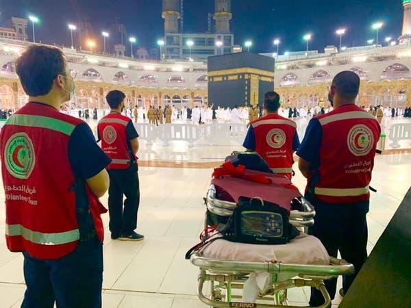 في رمضان 500 متطوع ومتطوعة يقدمون الإسعافات بالمسجد الحرام