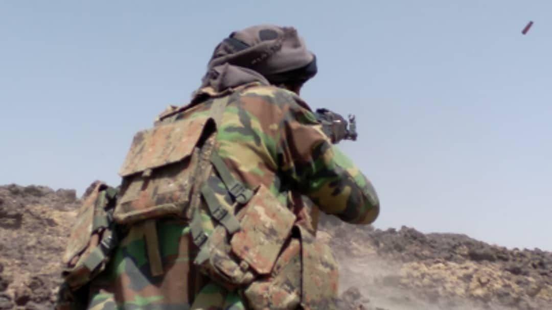 الجيش اليمني يتصدى للهحوم الحوثي على مأرب