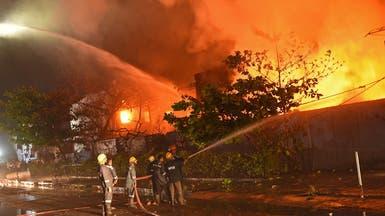 الهند: مقتل 12 بحريق في مستشفى لكورونا وإصابات قياسية لثاني يوم