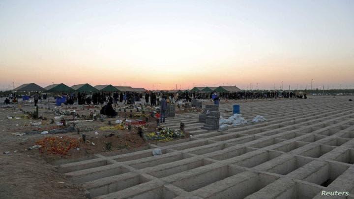مدافن لضحايا كورونا في إيران