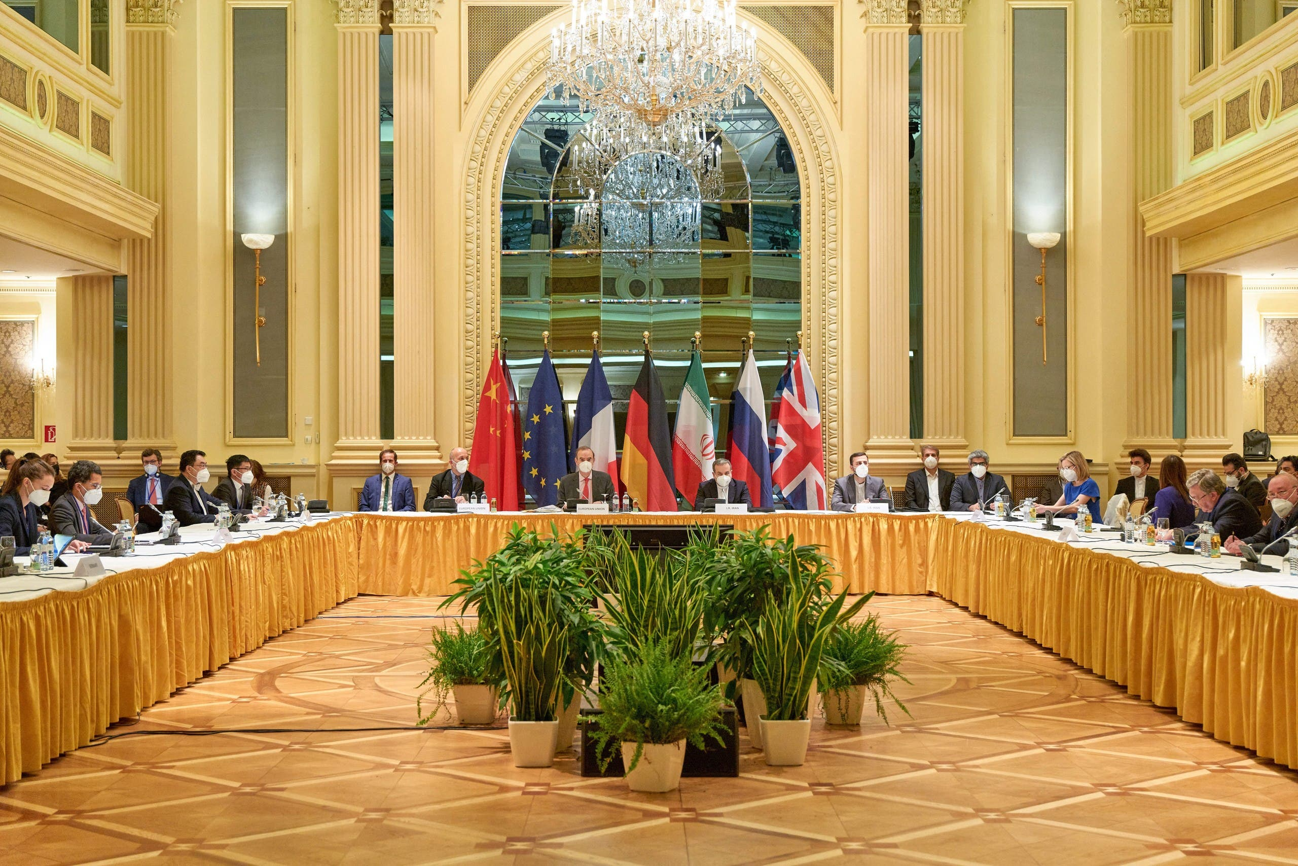 من المحادثات في فيينا حول البرنامج النووي الإيراني
