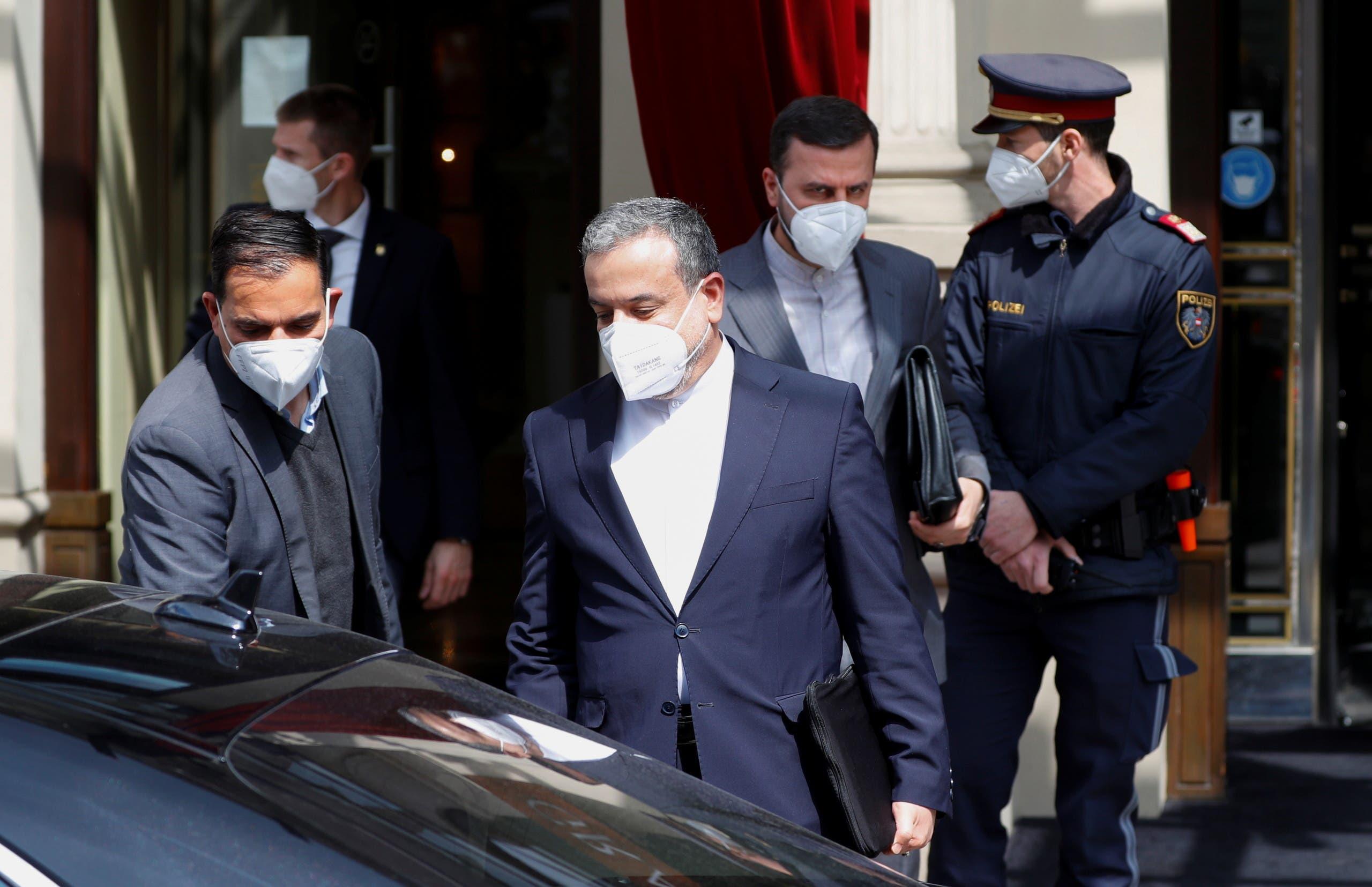 مساعد وزير الخارجية عباس عراقجي في فيينا
