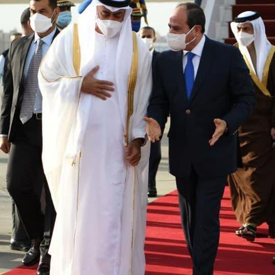 تنسيق إماراتي مصري لحماية الأمن العربي ومواجهة التدخلات