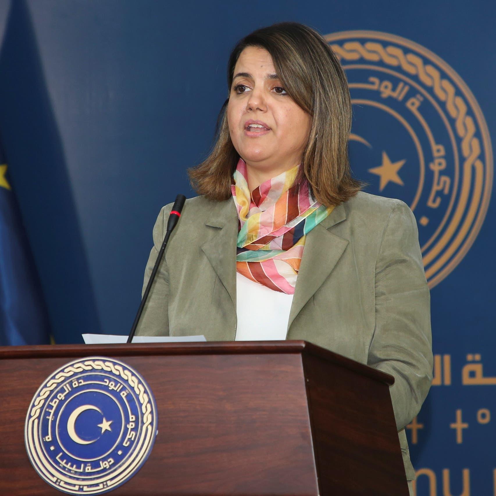 إخوان ليبيا يشنون هجوماً على وزيرة الخارجية بسبب تركيا