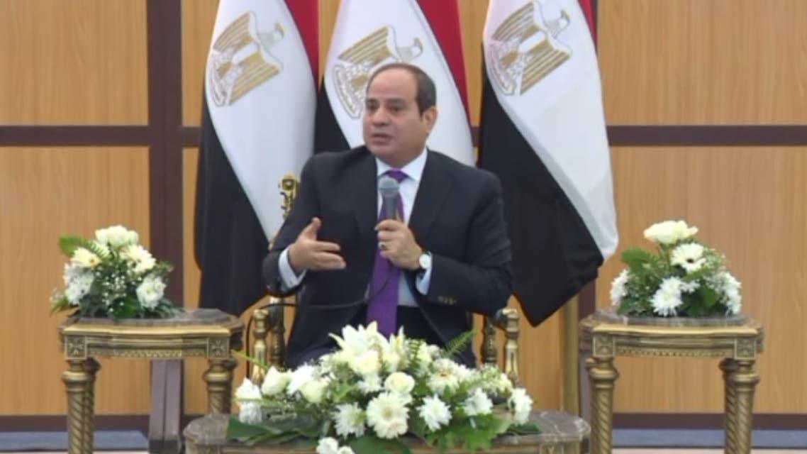 السيسي : الشركات والعمالة المصرية جاهزة للعمل والسفر إلى ليبيا