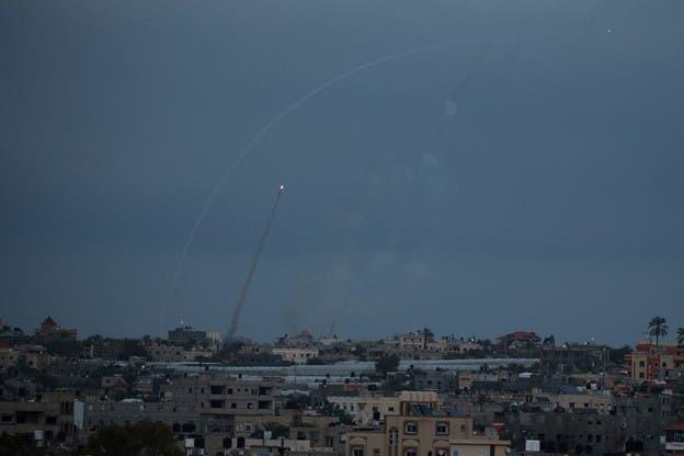 شلیک موشک از غزه به اسرائیل