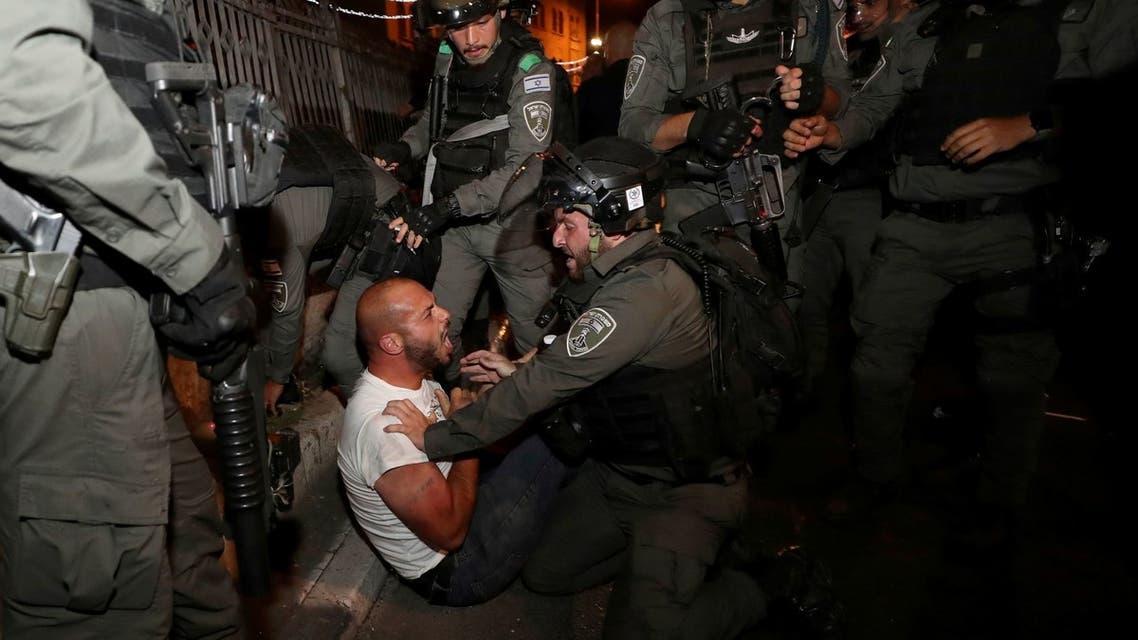 صدامات بين الفلسطينيين والشرطة الإسرائيلية بالقدس