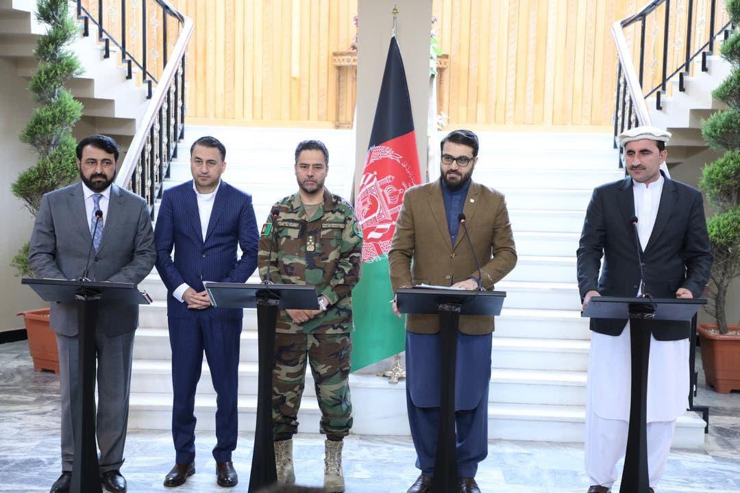 مقامات امنیتی افغانستان