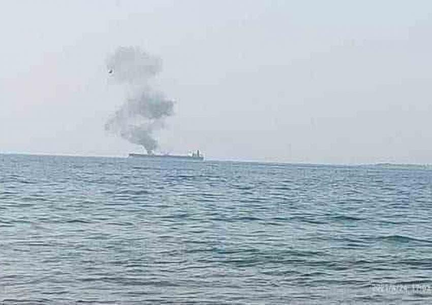 نفتكش ايرانى در ساحل بانياس سوريه