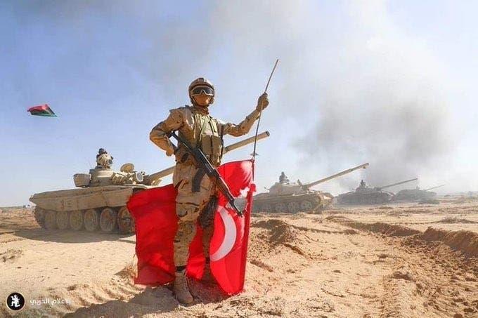 قوات تركية في ليبيا - أرشيفية