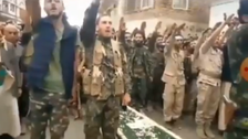 Houthi supporters hold Nazi salute, chant anti-America, anti-Semitic slogans in video