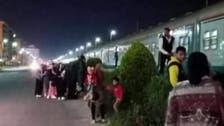 انفصال عربات قطار في مصر.. دون وقوع إصابات