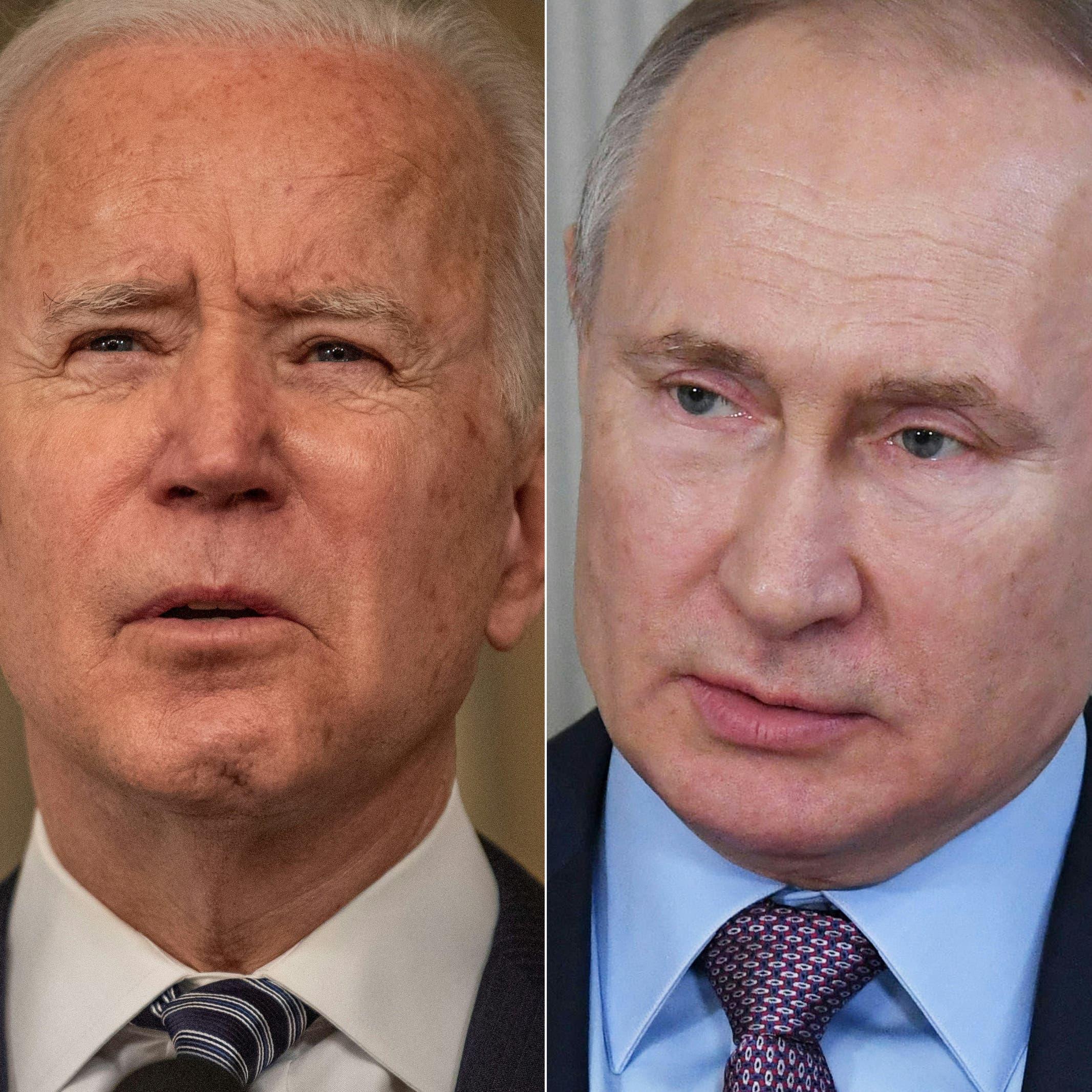 هذا ما تقترح موسكو مناقشته خلال محادثات محتملة بين بوتين وبايدن