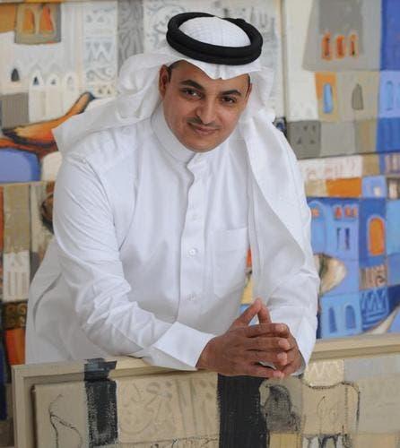 الفنان التشكيلي فهد خليف