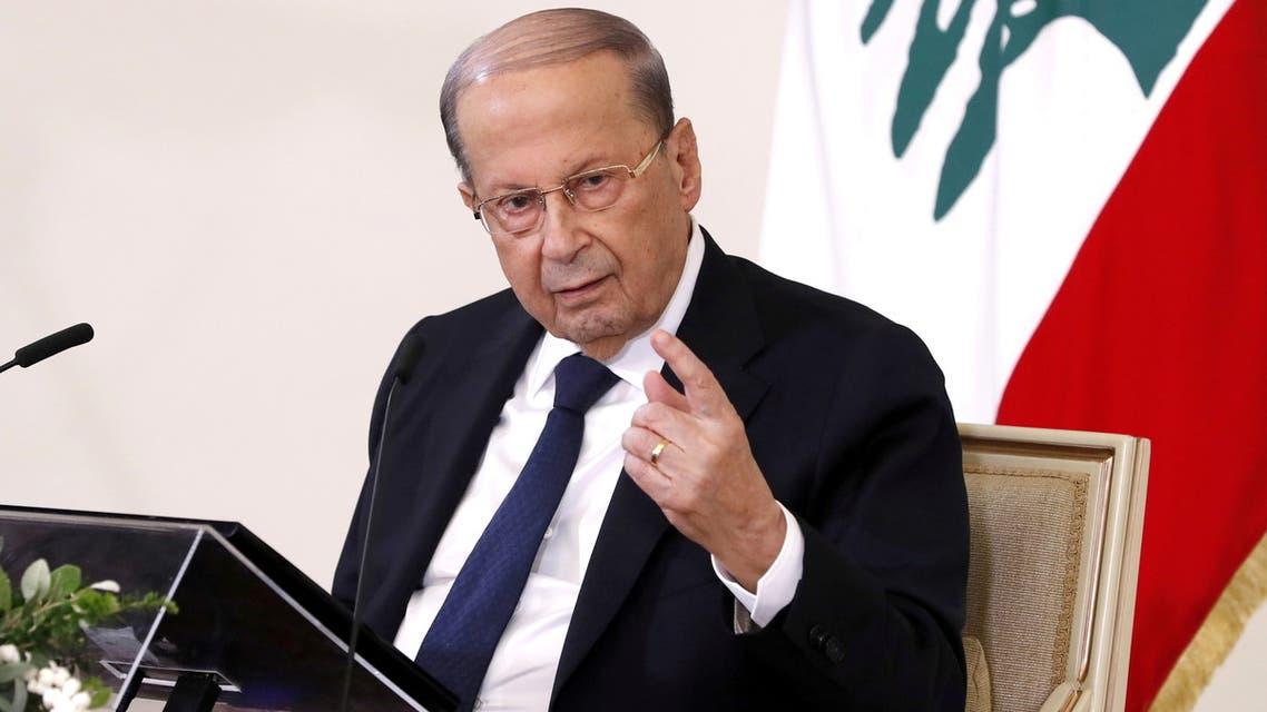 الرئيس اللبناني ميشال عون (أسوشييتد برس)