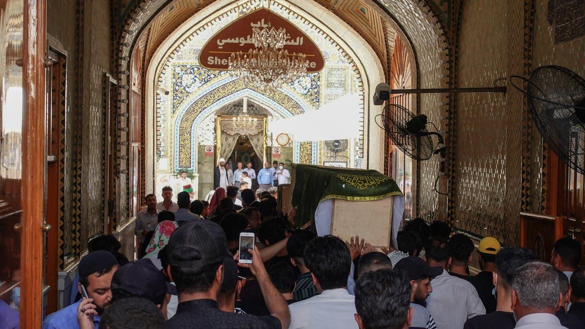 تشييع ضحايا مستشفى بغداد (فرانس برس)