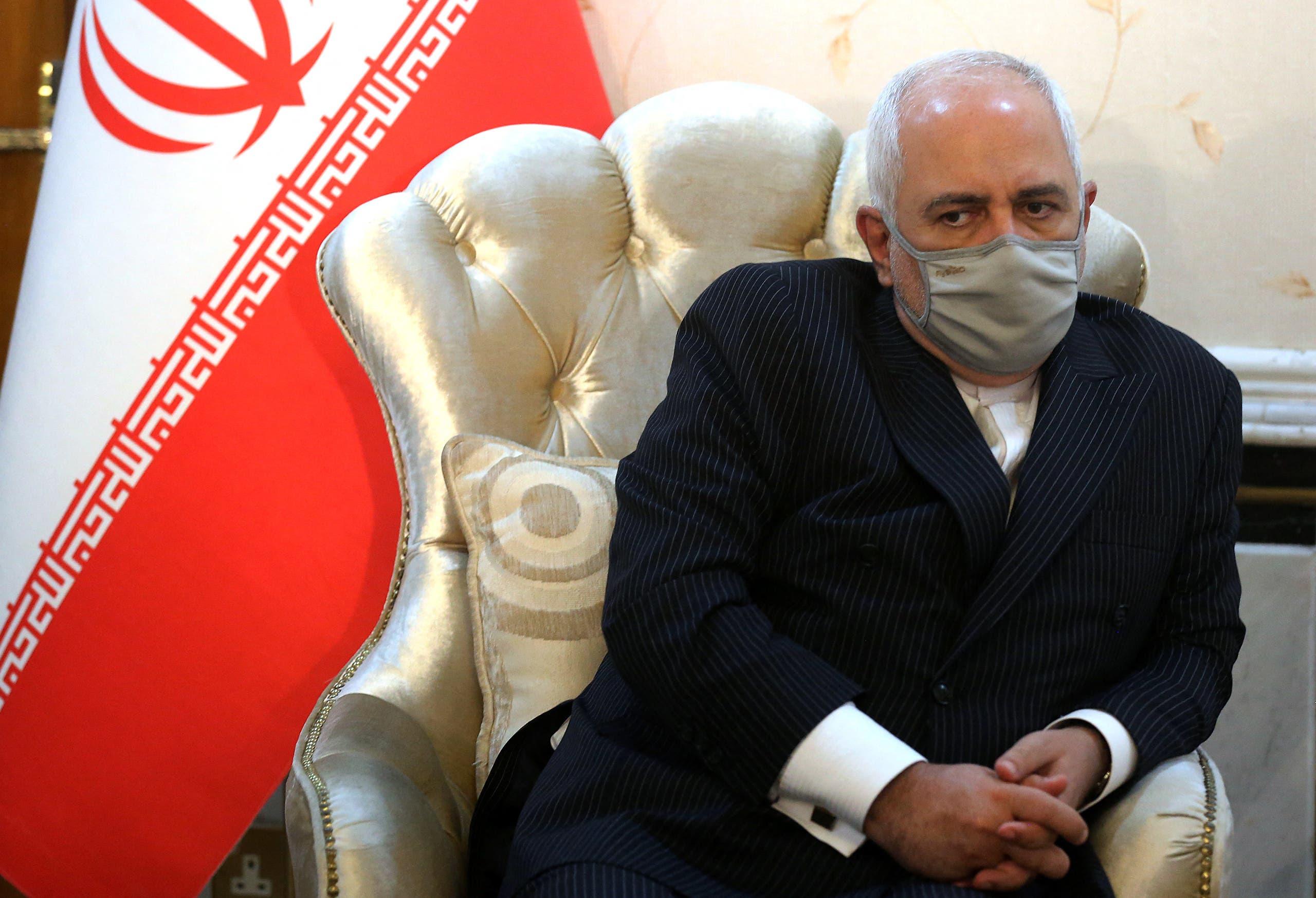 وزير الخارجية الإيراني محمد جواد ظريف (فرانس برس)