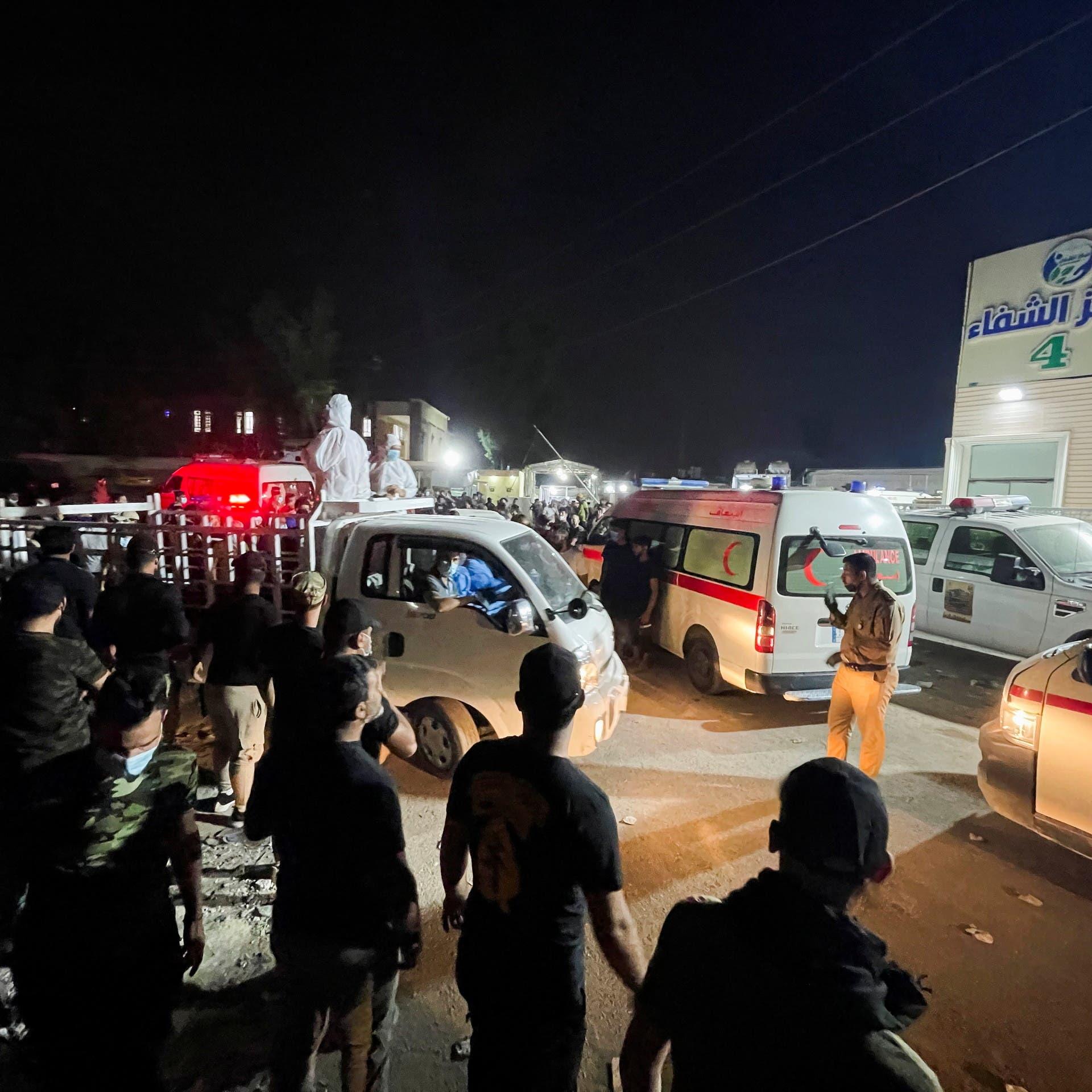فاجعة مستشفى العراق.. الداخلية تكشف تفاصيل جديدة