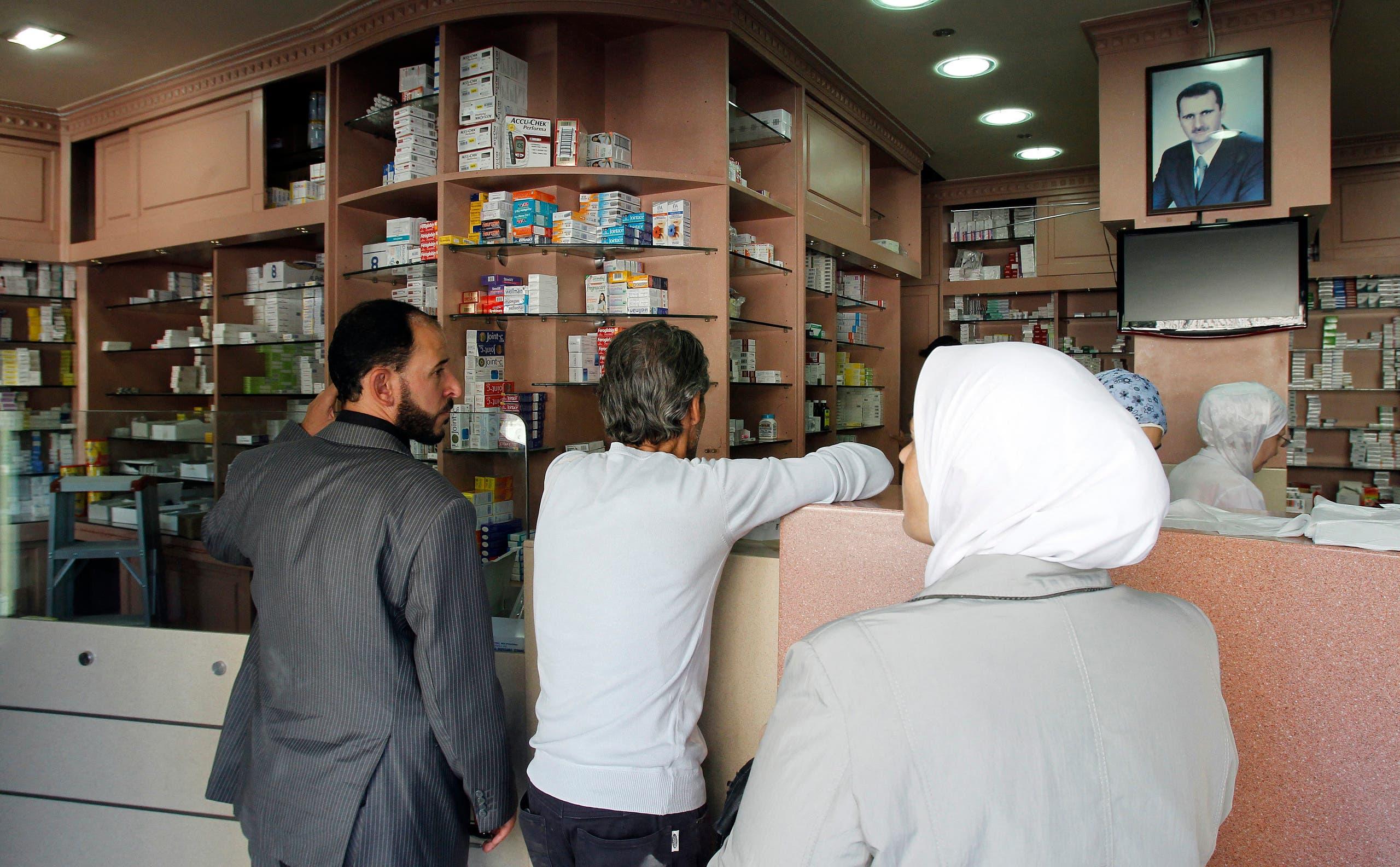صيدلية في دمشق (فرانس برس)
