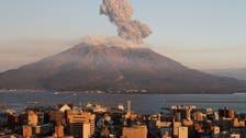 ويدیو؛ فوران آتشفشان «ساکوراجیما» در ژاپن