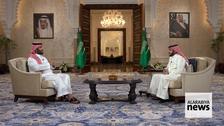 Saudi Crown Prince Mohammed bin Salman gives TV interview on Vision 2030 progress