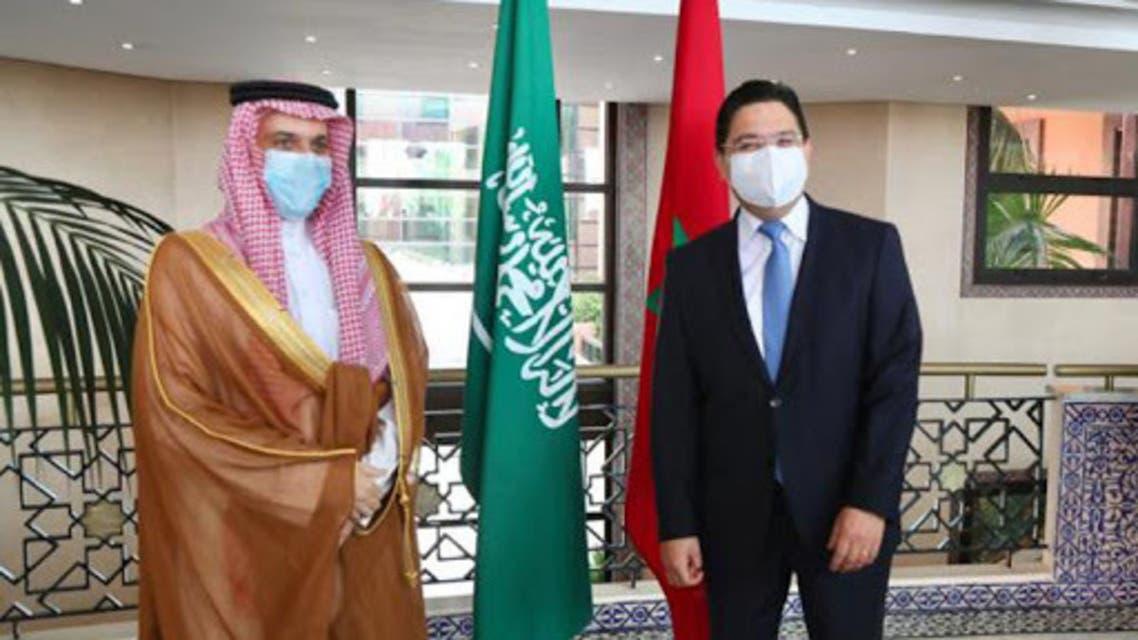فيصل بن فرحان و ناصر بوريطة