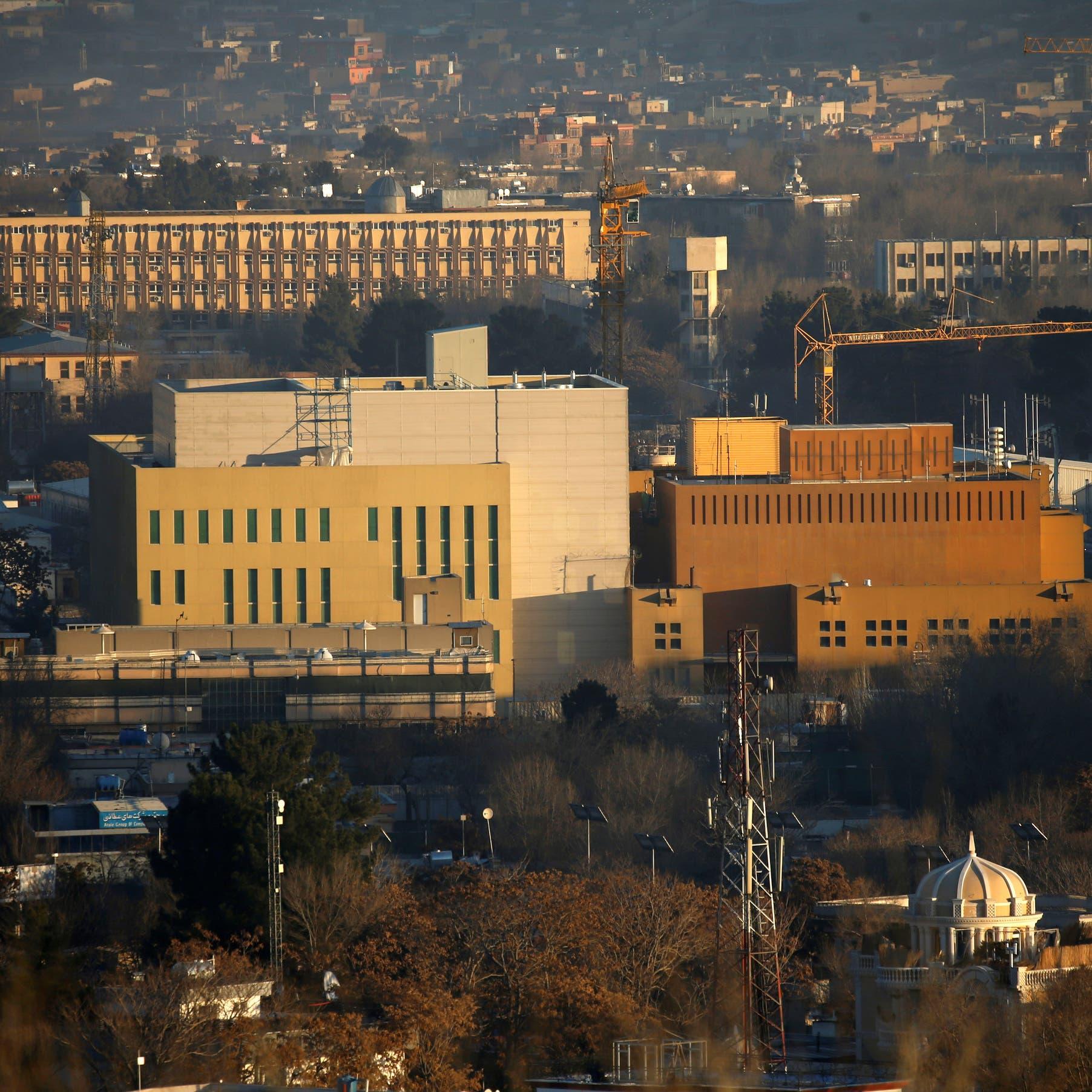واشنطن تسحب موظفيها غير الأساسيين من سفارتها في كابل