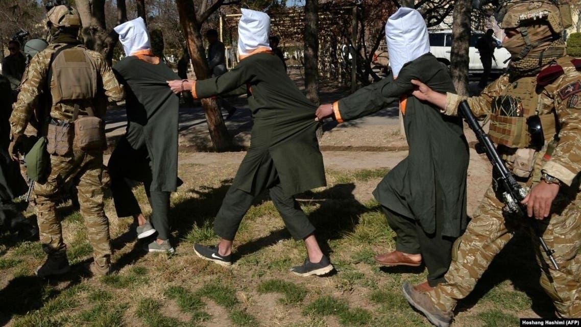 افراد وابسته به داعش در افغانستان