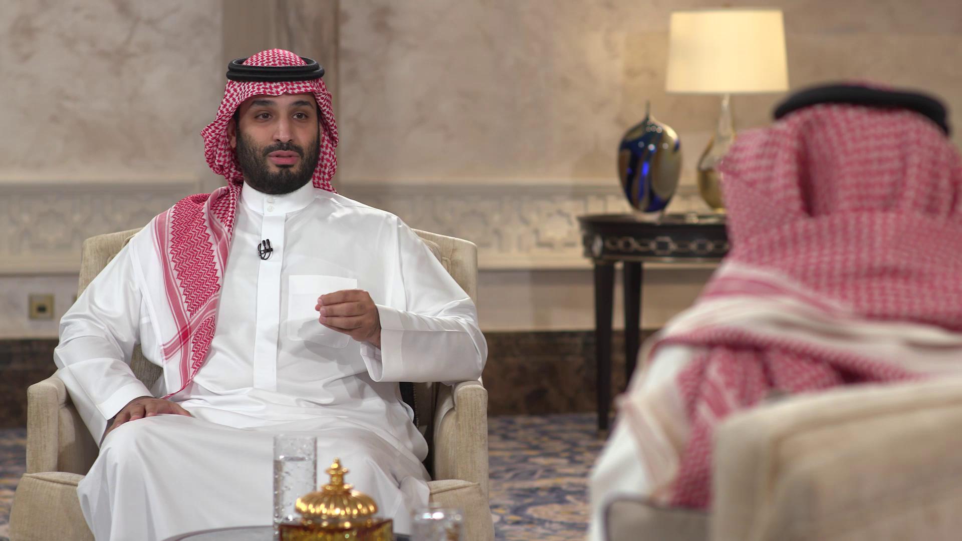من مقابلة الأمير محمد بن سلمان
