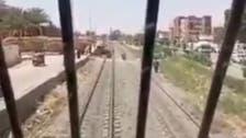 ٹرین ڈرائیور کی حاضر دماغی نے سیکڑوں مصریمسافر یقینی موت سے بچا لیے