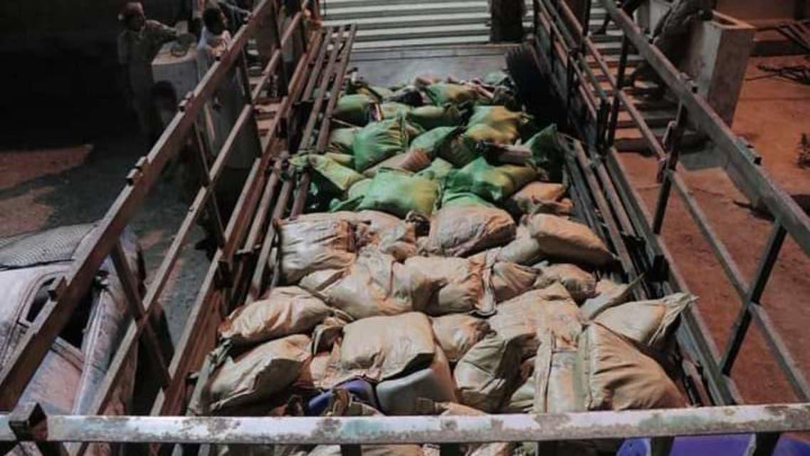 ضبط أكبر كمية مخدرات شرق اليمن 2