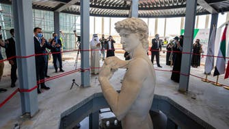 Michangelo masterpiece David recreated in 3D-printed sculpture for Dubai Expo 2020