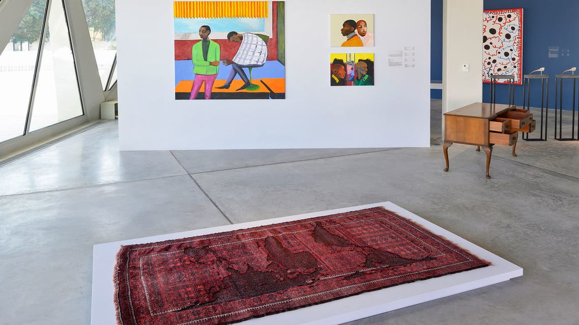 Installation view: Unsettled Objects, Sharjah Art Foundation, 2021. (Courtesy: Sharjah Art Foundation)