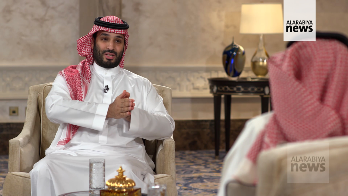 The Crown Prince spent the last portion of his nearly 1.5-hour interview focusing on his foreign policy doctrine and the future of the Yemeni conflict. (Supplied)