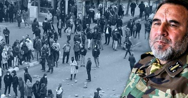 اعتراف کیومرث حیدری به سرکوب تظاهرات آبان ماه 98