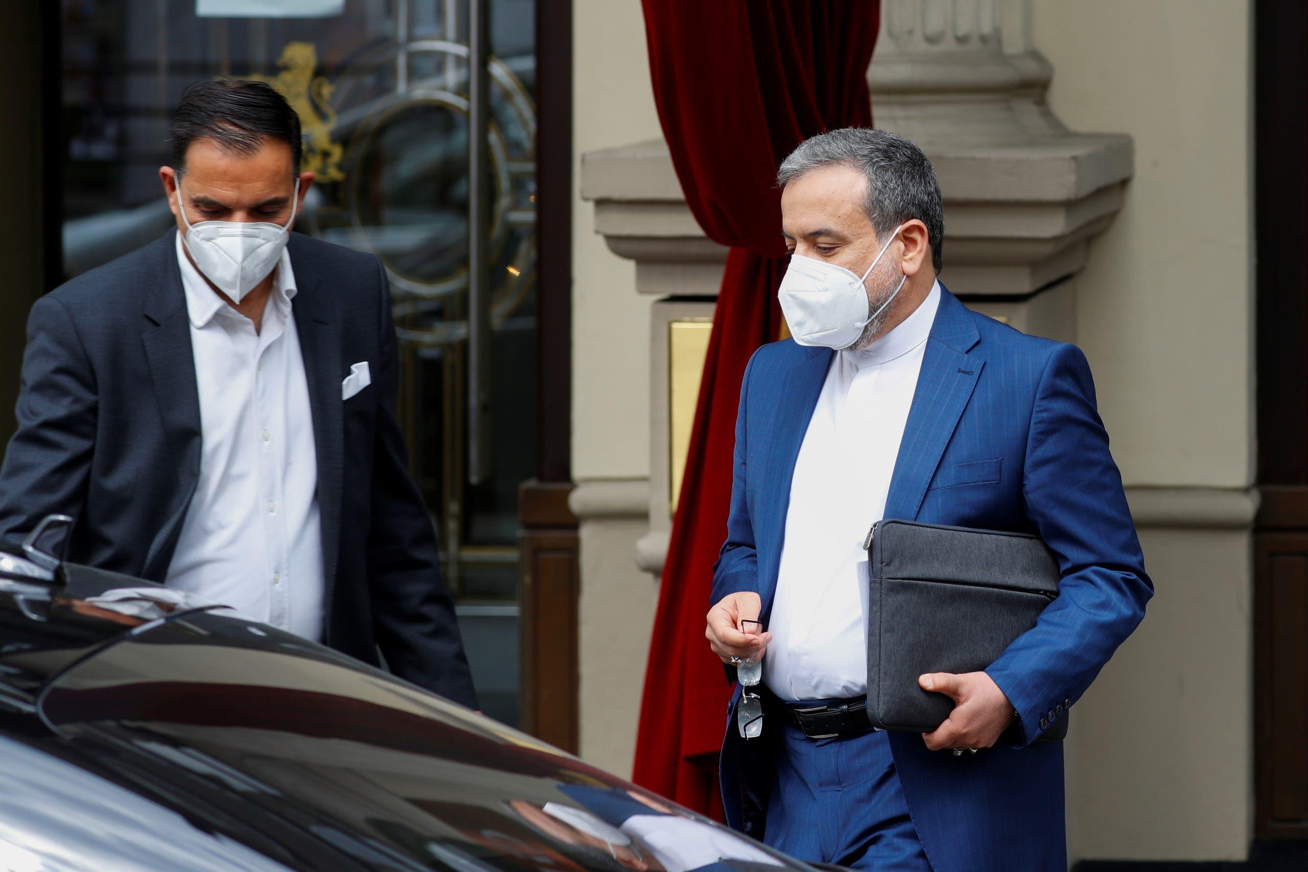 مندوب إيران إلى مفاوضات فيينا عباس عراقجي