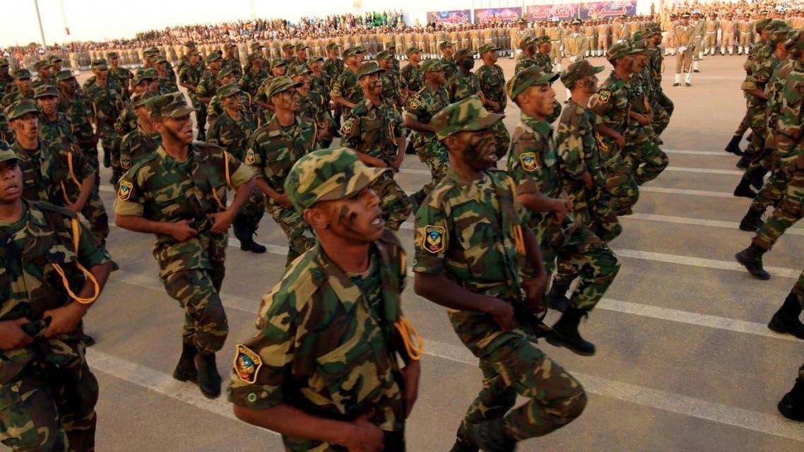 من عرض عسكري للجيش في بنغازي