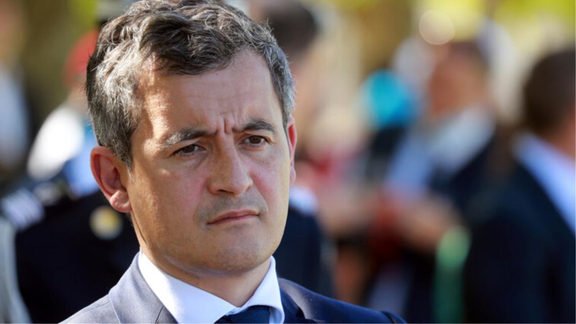 وزير الداخلية الفرنسي، جيرالد دارمانين